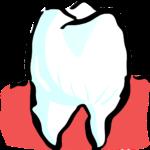 Piękne zdrowe zęby także godny podziwu przepiękny uśmieszek to powód do płenego uśmiechu.